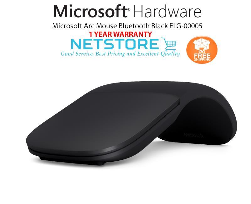 Microsoft Arc Mouse Bluetooth Black ELG-00005