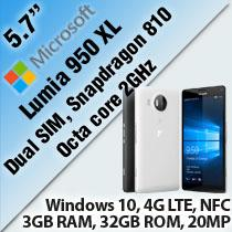 MICROSOFT LUMIA 950 XL DUAL SIM SMAR (end 3/22/2016 4:27 PM)