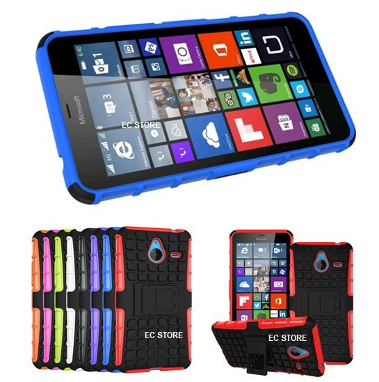 finest selection f672d 7192c Microsoft Nokia Lumia 535 540 735 830 Silicon Tough Armor Case Cover