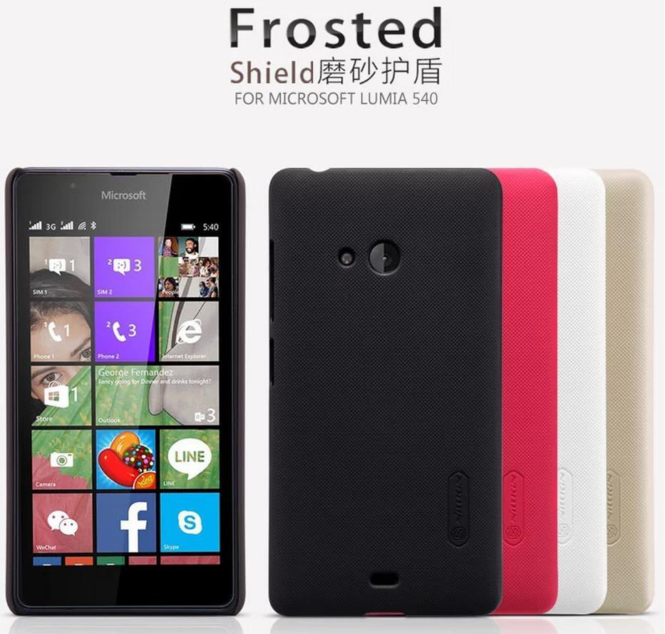 outlet store 40992 8b265 Microsoft Nokia Lumia 540 Frosted Shield Back Case Cover + Free SP