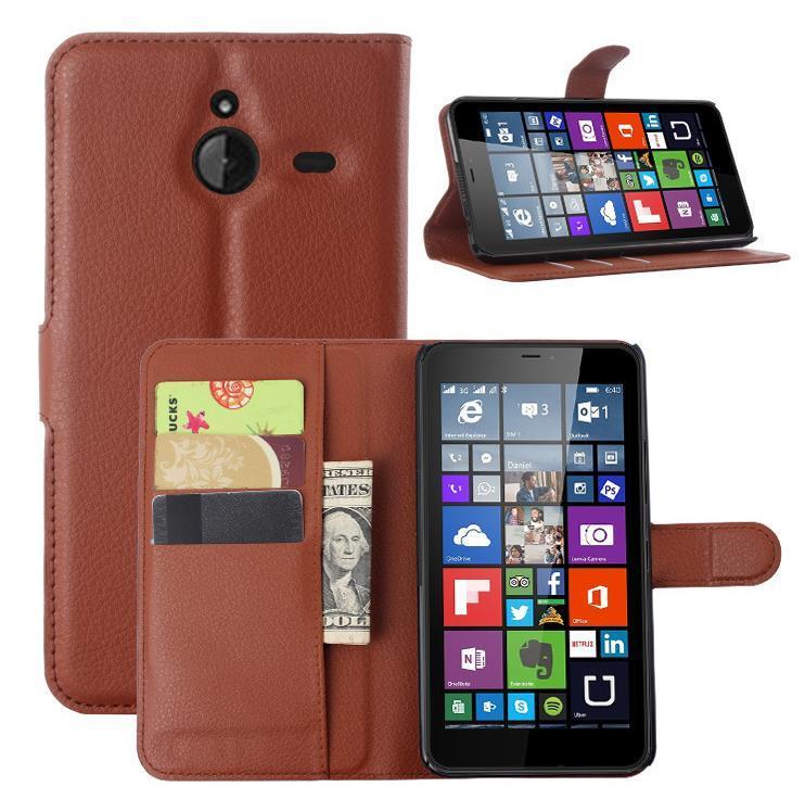 newest 5a4d4 94524 Microsoft nokia Lumia 640 XL PU Leather Flip Case Cover Casing