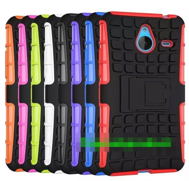 finest selection 50c37 66fb7 Microsoft Nokia Lumia 640 / XL Tough Armor Back Case Cover Casing