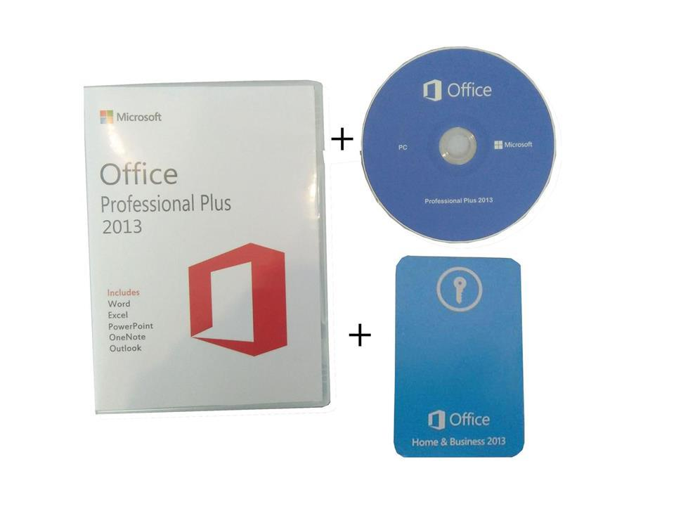 MICROSOFT OFFICE 2013 PROFESSIONAL PLUS KEY CARD + INSTALLATION CD