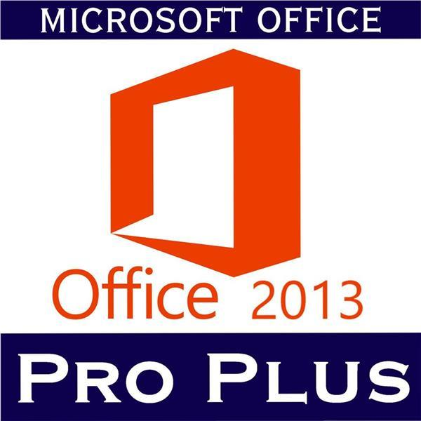 Microsoft Office 2013 Professional Plus (Product Key + Key Card + CD)