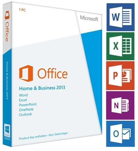microsoft office home business 2013 retail boxed
