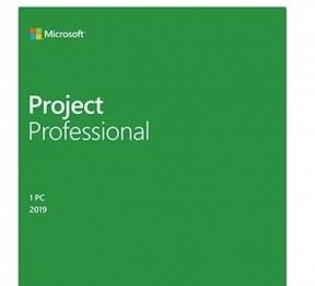 MICROSOFT Project Pro Professional 2019 32/64 DVD H30-05741