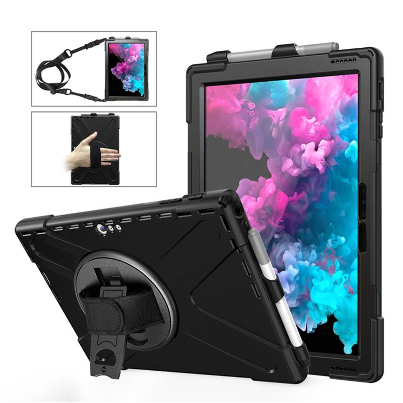 Microsoft Surface Pro 6 5 4 Shockproof Handheld Back Case Casing Cover