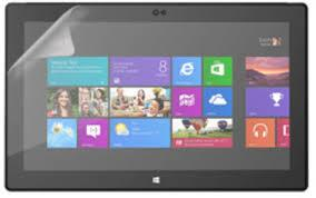 MICROSOFT SURFACE RT 10.6 INCH TABLET CLEAR SCREEN PROTECTOR