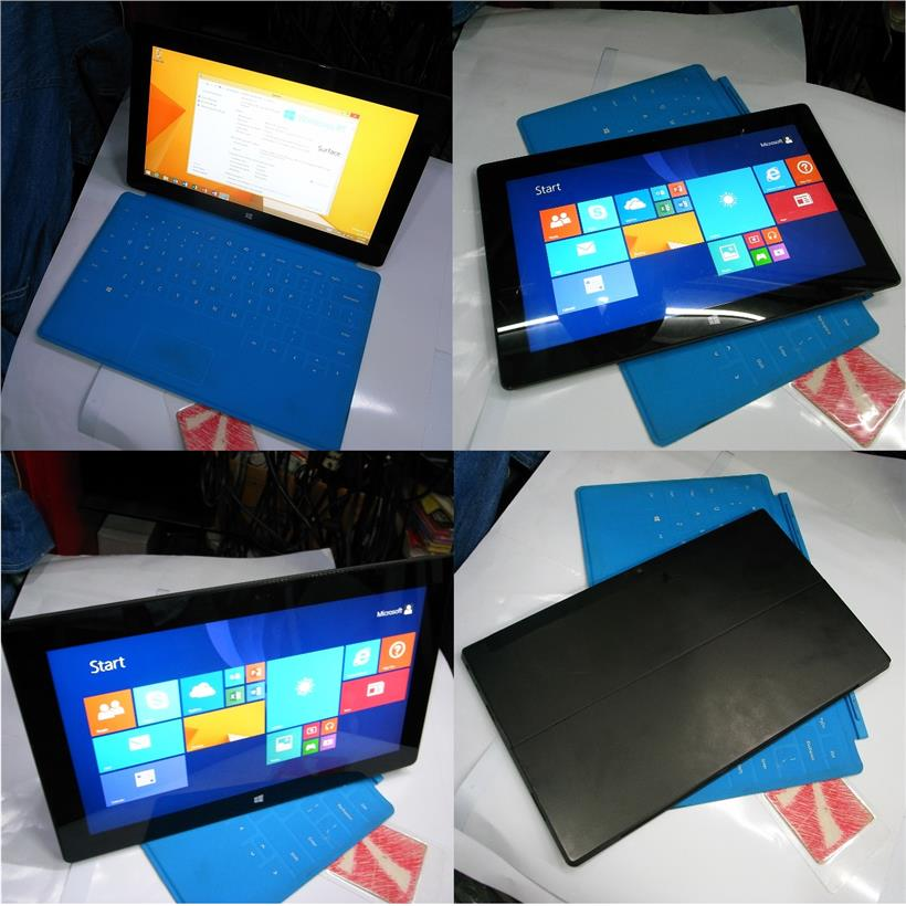 Microsoft Surface RT Windows 8.1 32GB Table Pc With Keyboard Rm670