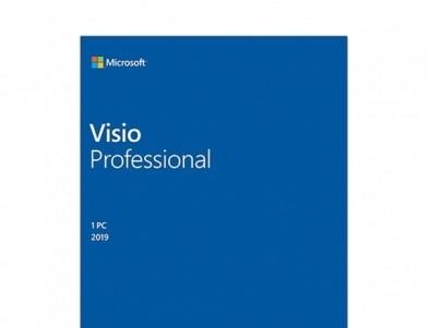 MICROSOFT Visio Pro Professional 2019 32/64 English EM DVD D87-07410