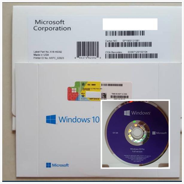 windows 10 64 bit oem