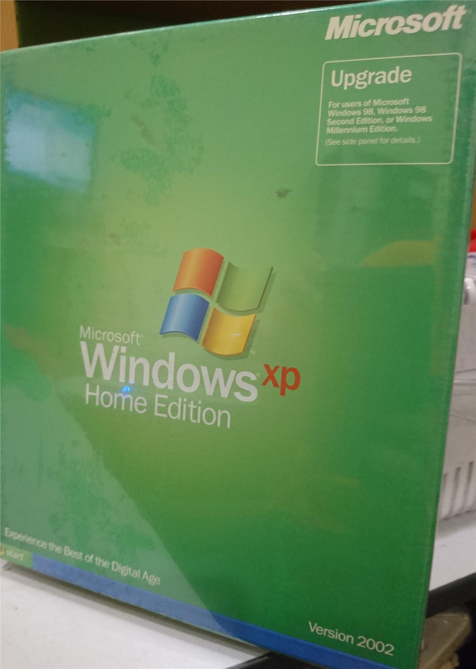 microsoft windows xp home edition 2002