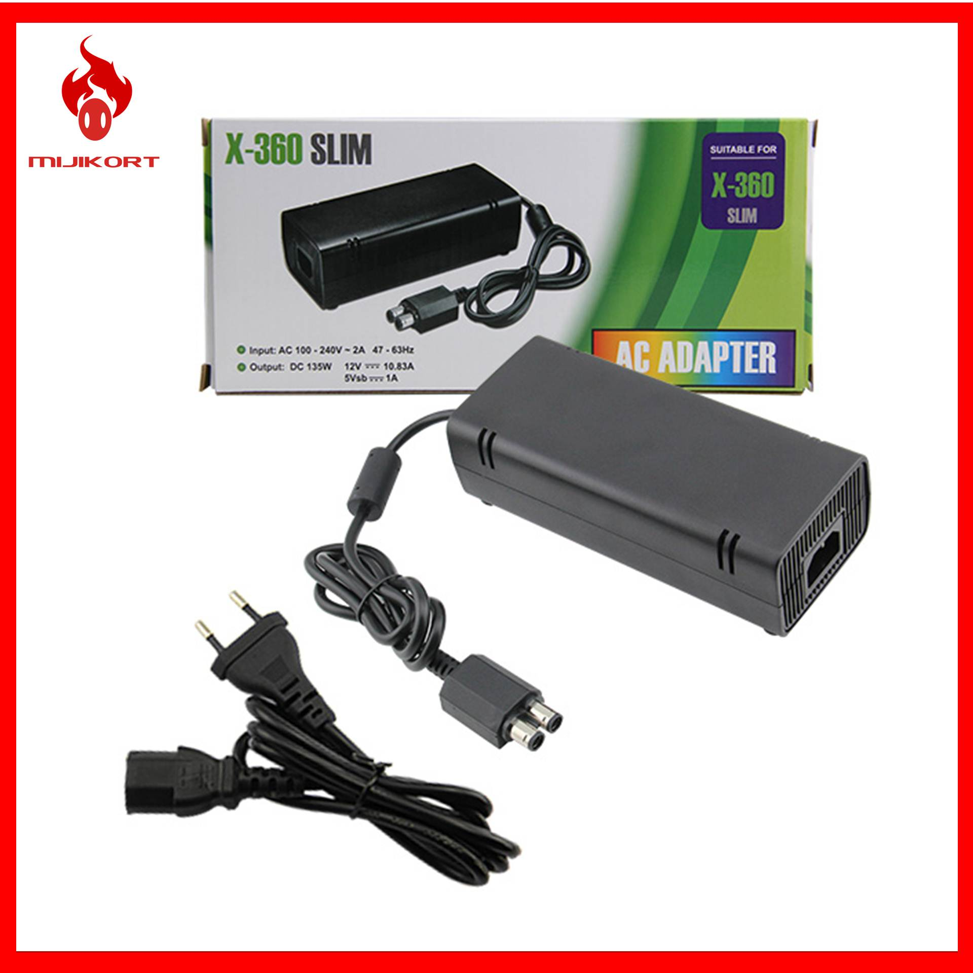 Microsoft Xbox 360 Ac Adapter Power End 11 12 2020 324 Pm Supply Cord Charger For S