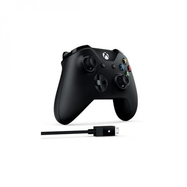 Microsoft Xbox Wireless Controller + Cable for Windows (4N6-00003)