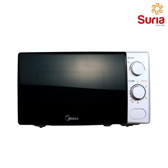 MIDEA 20L MICROWAVE WITH DEFROST SETTING MID-MM720CXM