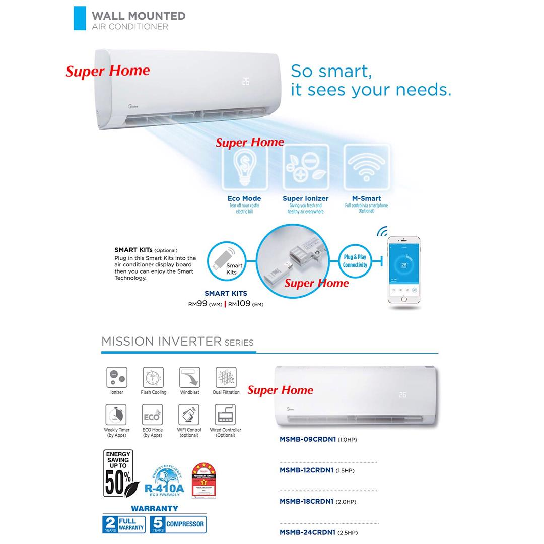 Midea Air Conditioner Wiring Diagram Detailed Diagrams Tempstar Ac Msmb 18crdn1 2 0hp Inverter W End 12 2019 15 Pm Trane