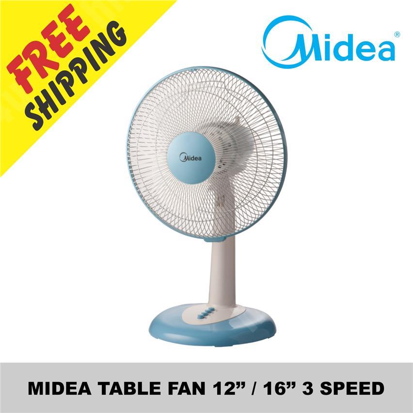MIDEA TABLE FAN 12 Inchi / 16 Inchi 3 SPEED