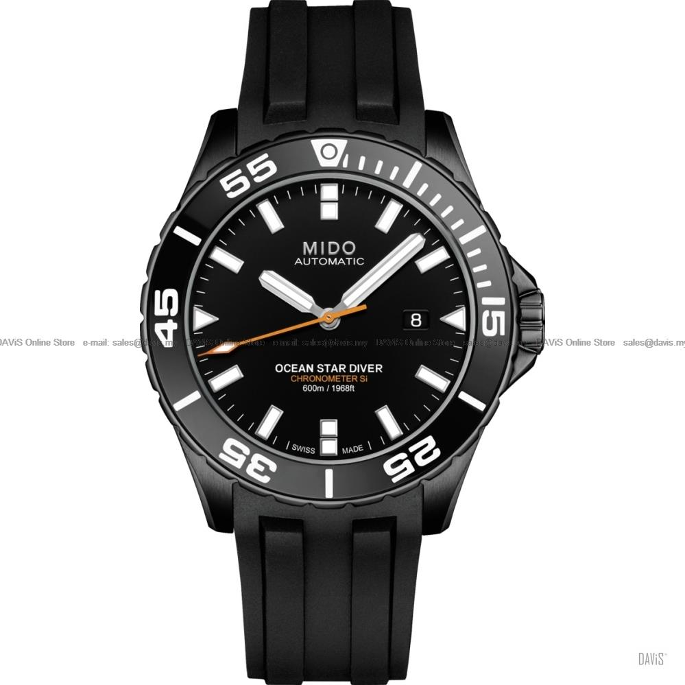 MIDO M026.608.37.051.00 OCEAN STAR Diver Gent Automatic Rubber Black