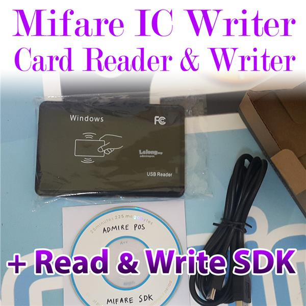 MIFARE Card Reader & Writer Encoder with SDK for Programming - RFID IC
