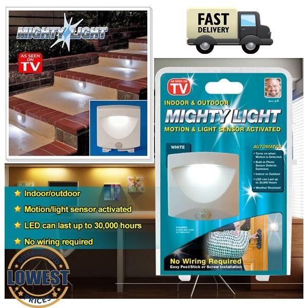 Mighty Light indoor outdoor Motion (end 11/22/2019 12:15 PM)