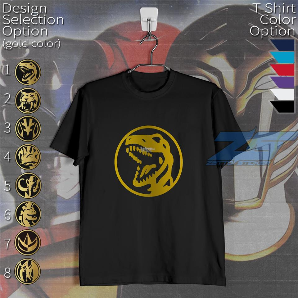 MIGHTY MORPHIN POWER RANGERS TYRANNO RED RANGER SHIRT
