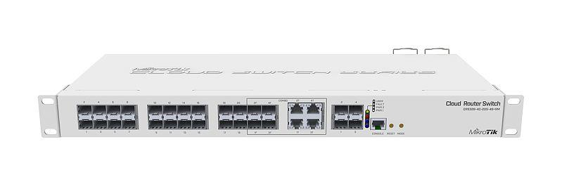 Mikrotik 20-port SFP + 4x SFP with 4x CP Switch (CRS328-4C-20S-4S+RM)