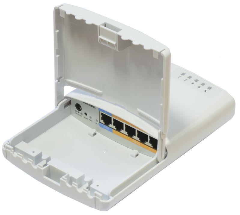Mikrotik PowerBox RB750P-PBr2 5-Port Router