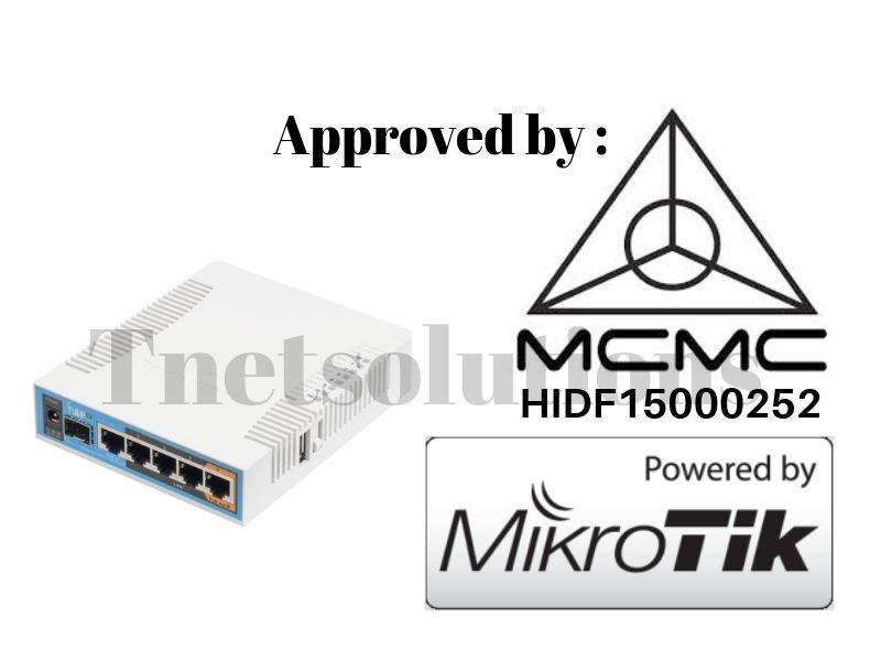 Mikrotik universal home/office wireless hAP ac (RB962UiGS-5HacT2HnT)
