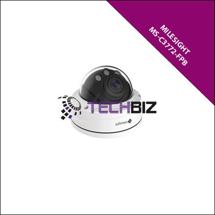 Milesight C3772-FPB H.265 Remote Focus&Zoom Pro Dome Camera 3.0MP