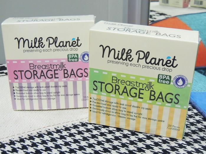 Milk Planet Storage Bags 7oz