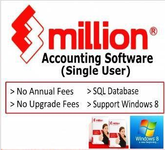 Million Accounting Billing Stock GST Ready Migrate UBS Data
