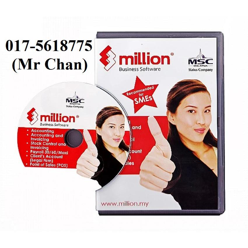Million Accounting Software - Import From Excel To Million Software
