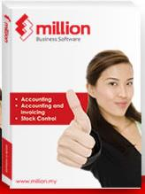 Million Payroll Maxi (Single User) Software - Free 8GB Pen Drive