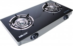 Milux 2 Burner Gas Cooker Msg 2600