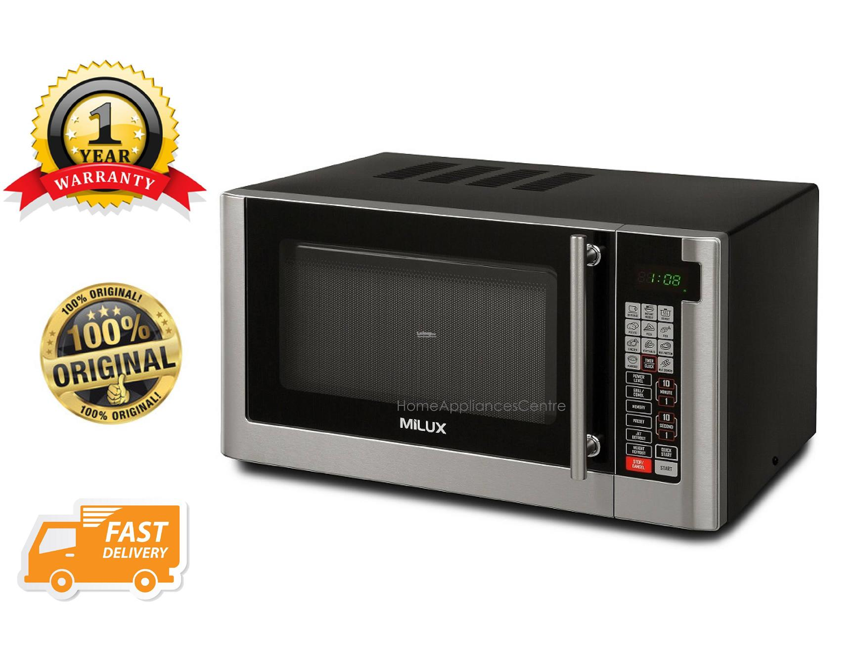 Milux 30l Large Capacity Microwave Oven With Grill Function Mmo 5030
