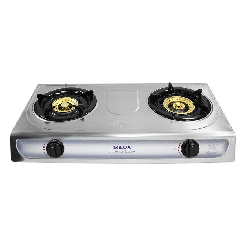 Milux Stainless Steel Gas Stove Ms128