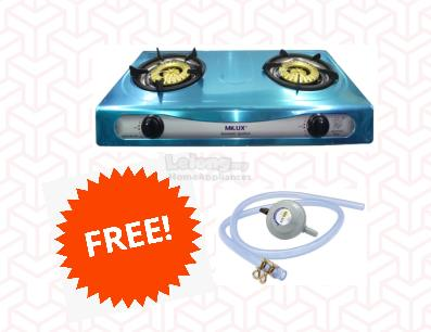 Milux Stainless Steel Gas Stove Ms3399