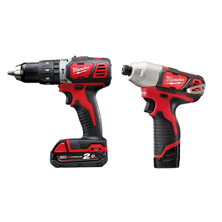 MILWAUKEE M12-18 BPP2L-202X COMBO SET