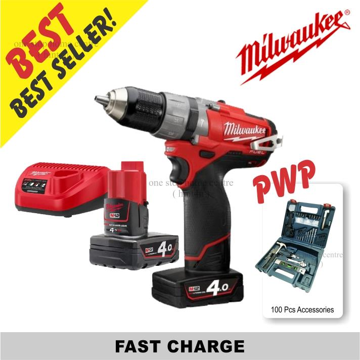 *Milwaukee M12 CPD-402C 12V Cordles (end 9/25/2020 10:15 PM