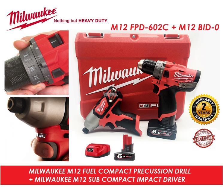 milwaukee drill driver set