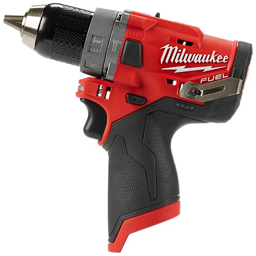 Milwaukee M12 FUEL Cordless Hammer Drill Compact 2-Speed Percussion