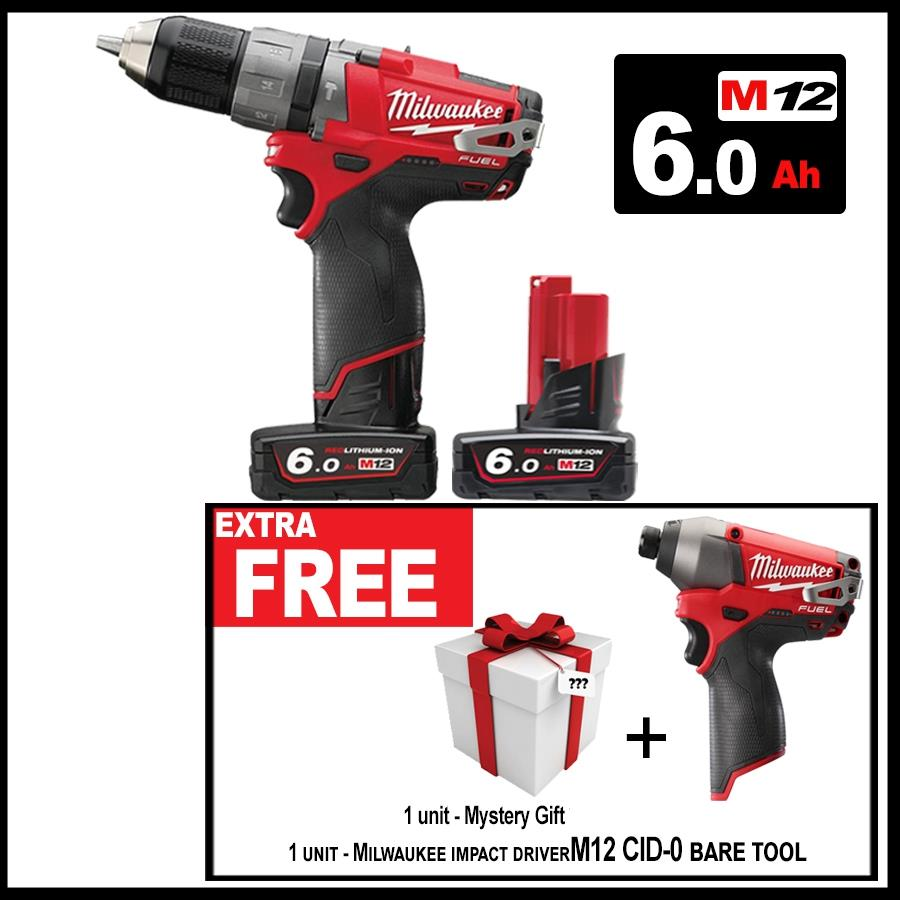 MILWAUKEE M12CPD 602 FUELTM 2 SPEED PERCUSSION DRILL
