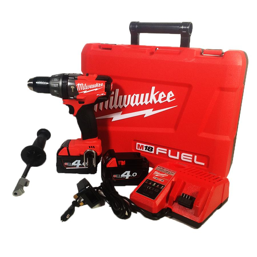 Milwaukee M18 CPD Heavy Lithium Percussion Battery Drill with Hammer 4