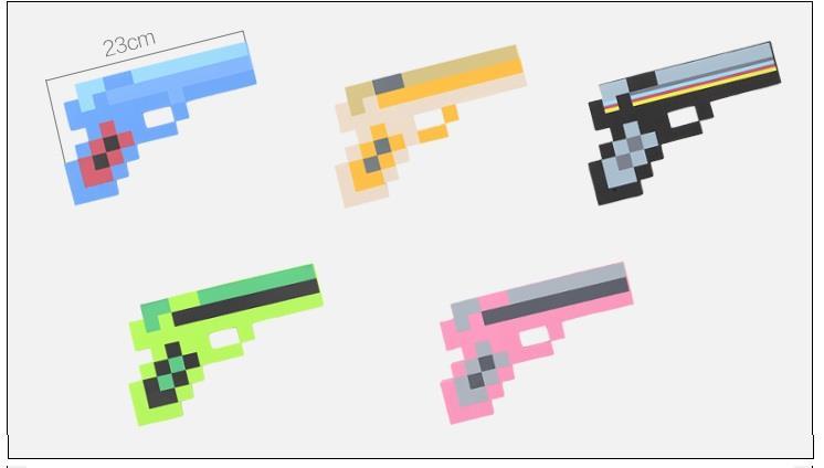 Minecraft Foam Gun