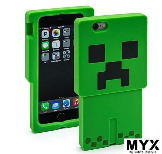 Minecraft iPhone 6 Samsung S5 iPad Casing Case Cover