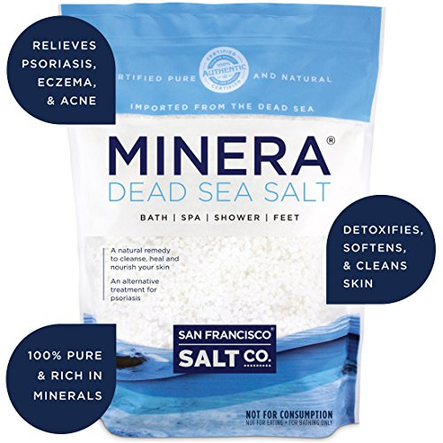 US. Minera Dead Sea Salt - 5 lb. Coarse Grain Bulk Bag
