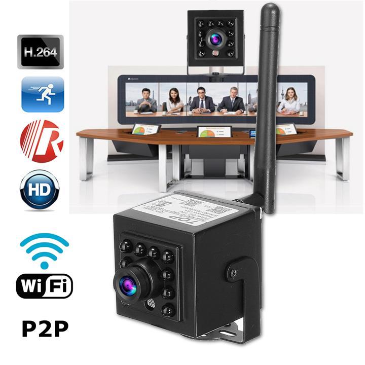Mini 1 0 Megapixel 720P HD WIFI Hidden Network IP/P2P IR Night Vision