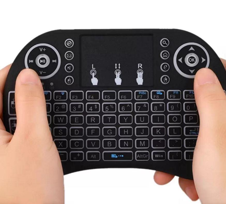 Mini 2.4G Fly Air Mouse Wireless Gaming Keyboard Touchpad Smart TV