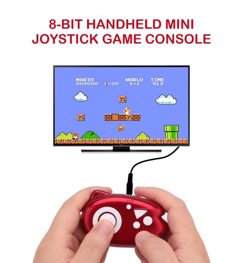 Mini 8 Bit Video Console Build In 89 Classic Support TV Output Plug Ga..