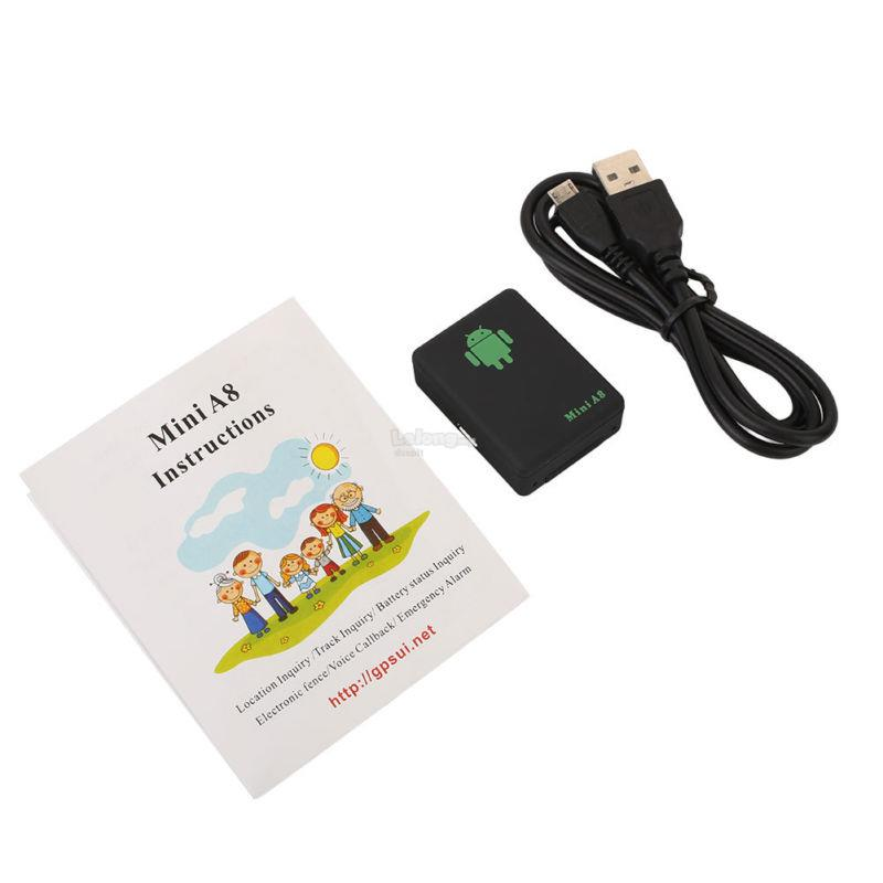 Mini A8 Global Real Time Tracker A8 GPRS Tracking Device